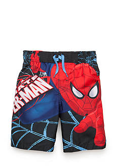 Spiderman Character Swim Trunks Boys 4-7