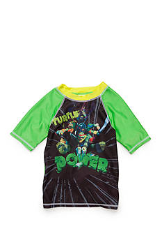 Teenage Mutant Ninja Turtles Character Rashguard Boys 4-7
