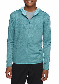 JK Tech Printed Active Zip-Up Hoodie Boys 8-20
