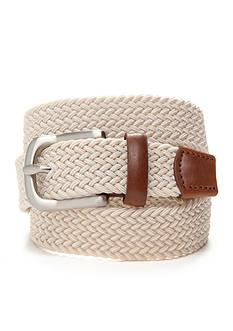 J. Khaki Elastic Braid Belt Boys 8-20