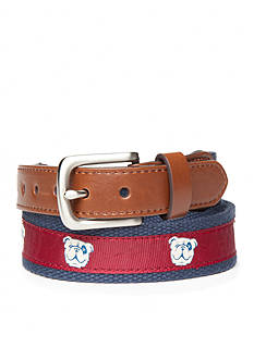 J. Khaki® Bulldog Belt Boys 4-7