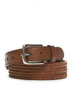 J. Khaki Taper Stretch Braided Belt Boys 8-20