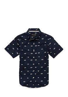 Ocean Current Printed Woven Button-Front Shirt Boys 8-20
