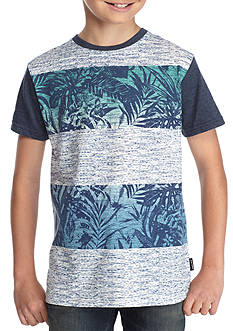 Ocean Current Palm Colorblock Tee Boys 8-20