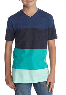 Ocean Current Washington Stripe V-Neck Tee Boys 8-20
