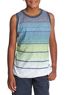 Ocean Current Ombre Stripe Tank Boys 8-20