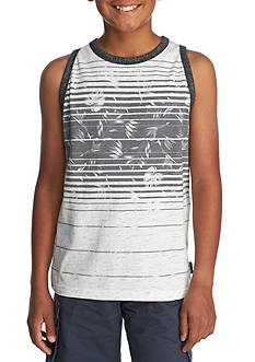 Ocean Current White Palm Tank Boys 8-20