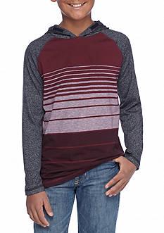 Ocean Current Long Sleeve Striped Hoodie Boys 8-20
