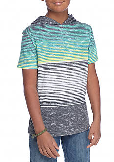 Ocean Current Sublimated Hooded Tee Boys 8-20