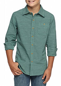 Ocean Current Authentically Button Up Boys 8-20