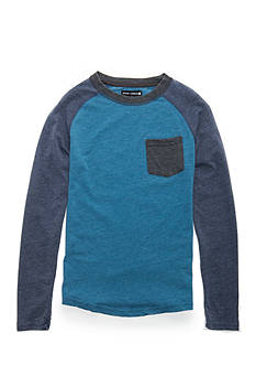 Ocean Current Burnout Raglan Long Sleeve Tee Boys 8-20
