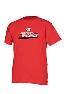 Boxercraft Wisconsin Badgers Ringspun Tee Boys 8-20