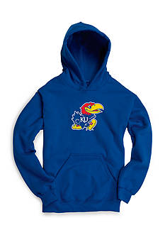 Boxercraft® Kansas Jayhawks Fleece Hoodie Boys 8-20