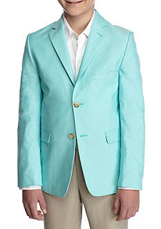 J. Khaki Oxford Blazer Boys 8-20