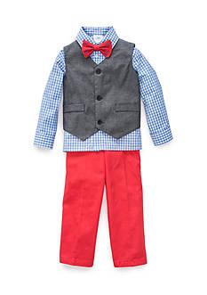 J. Khaki 3-Piece Set Woven Vest Boys 4-7