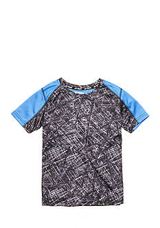 JK Tech Scratch Print T Back Tee Boys 4-7