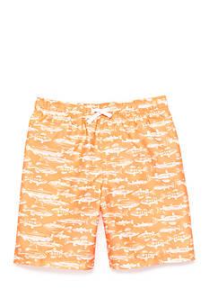 J. Khaki Swim Trunks Boy 8-20