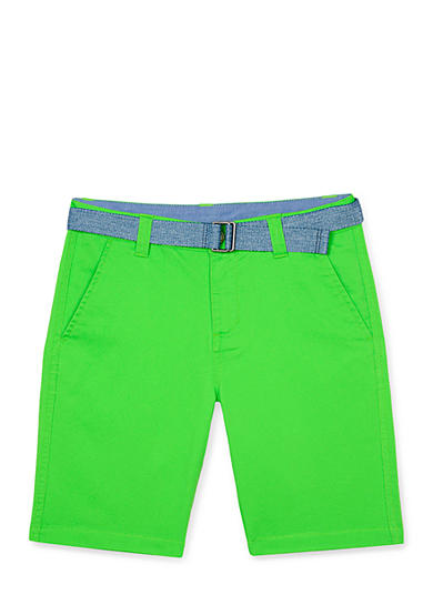 Chaps Belted Shorts Boys 4-7