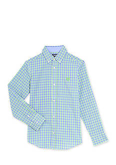 Chaps Tattersal Woven Button-Front Shirt Boys 4-7