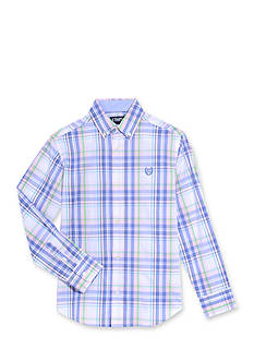 Chaps Plaid Woven Button-Front Shirt Boys 4-7