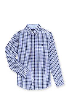 Chaps Tattersall Woven Button-Front Shirt Boys 8-20