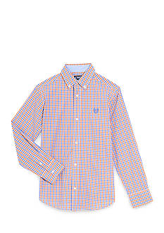 Chaps Tattersall Woven Button-Front Shirt Boys 8-20