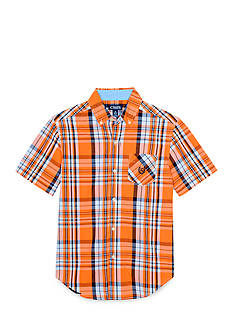 Chaps Plaid Woven Button-Front Shirt Boys 8-20