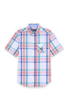 Chaps Plaid Woven Button-Front Shirt Boys 8-20