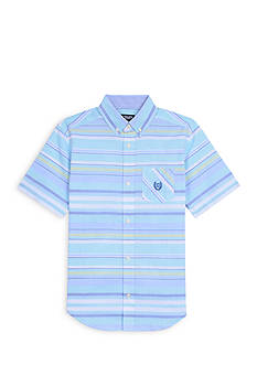 Chaps Stripe Woven Button-Front Shirt Boys 8-20