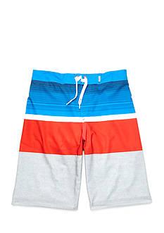Red Camel Printed Stretch Board Shorts Boys 8-20