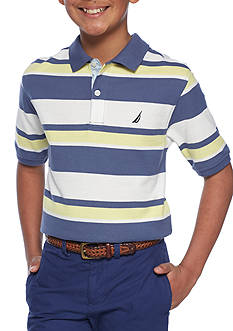 Nautica Stripe Polo Boys 8-20
