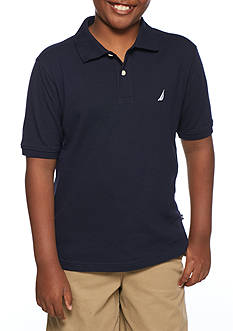Nautica Stretch Pique Polo Boys 8-20