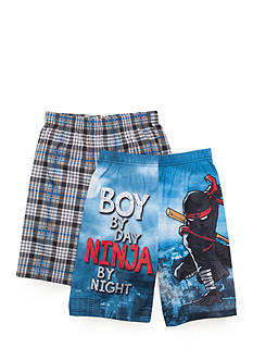 Jellifish Kids 2-Pack Pajama Shorts Boys 4-20