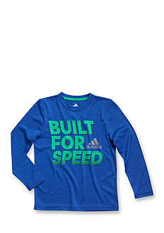 adidas® Long Sleeve Built For Speed Tee Boys 4-7