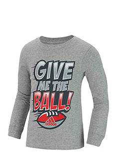 adidas Give Me The Ball Long Sleeve Tee Boys 4-7