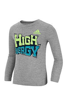 adidas High Energy Long Sleeve Tee Boys 4-7