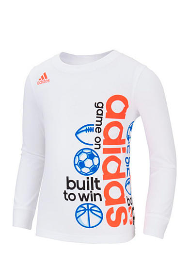 adidas® Linear Wrap Tee Boys 4-7