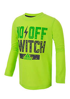 adidas No Off Switch Long Sleeve Tee Boys 4-7