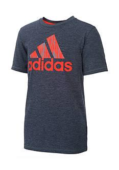 adidas Print Logo Tee Boys 8-20