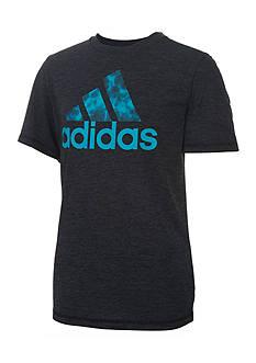 adidas Print Logo Tee Boys 4-7