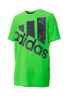 adidas Smoke Screen Big Logo Tee Boys 8-20