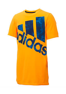 adidas® Smoke Screen Big Logo Tee Boys 8-20