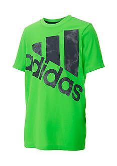 adidas® Smoke Screen Logo Tee Boys 4-7