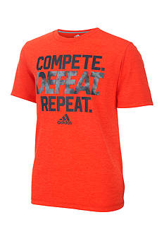 adidas 'Compete, Defeat, Repeat' Tee Boys 8-20