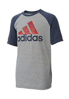 adidas Performance Raglan Tee Boys 8-20