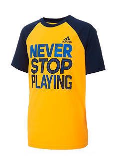 adidas Speed And Power Tee Boys 4-7