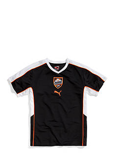 Puma V-Neck Patch Tee Boys 8-20