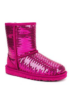 UGG Australia Classic Short Sparkle Boot - Girl Sizes 13 - 4