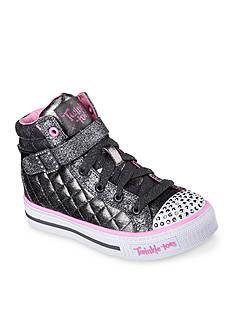 Skechers Twinkle Toe Sweetheart Sole Sneaker - Toddler/Youth Sizes