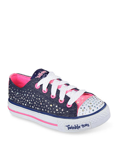Skechers Twinkle Toes Sparkle Wishes Sneaker - Toddler/Youth Sizes